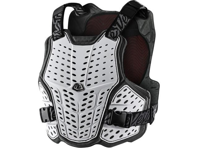 Troy Lee Designs Rockfight CE Flex Chest Protector, negro/blanco